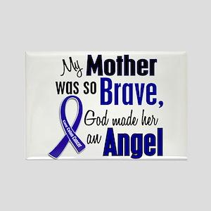 Angel 1 MOTHER Colon Cancer Rectangle Magnet