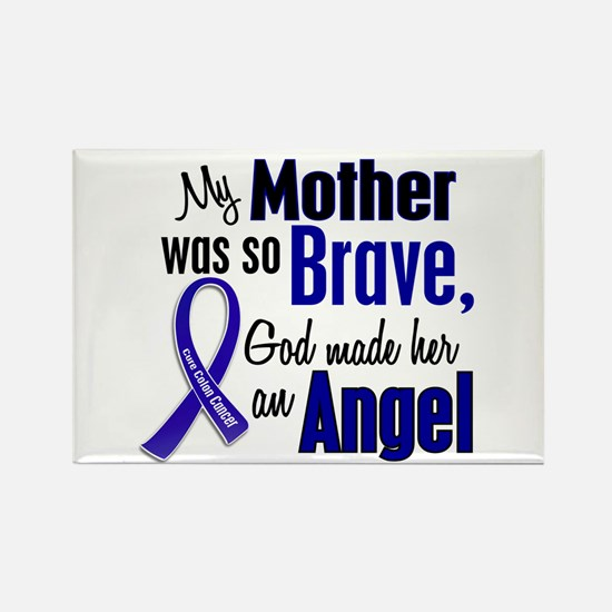 Angel 1 MOTHER Colon Cancer Rectangle Magnet (10 p