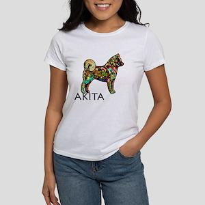 Glow Bright Akita Women's T-Shirt