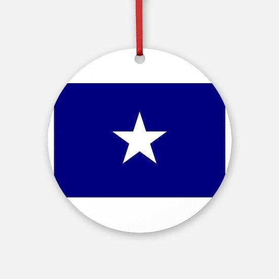 Bonnie Blue Flag Ornament (Round)