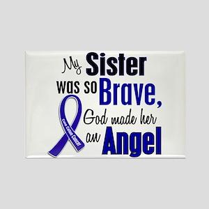Angel 1 SISTER Colon Cancer Rectangle Magnet