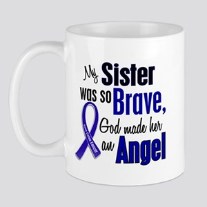 Angel 1 SISTER Colon Cancer Mug