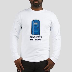 Triathlete's Best Friend Long Sleeve T-Shirt