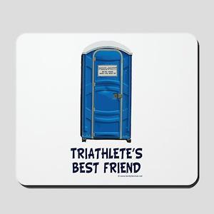 Triathlete's Best Friend Mousepad