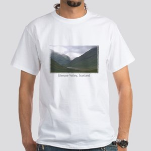 Glencoe Valley White T-Shirt
