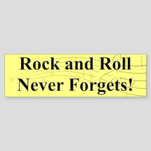"""R & R Never Forgets"" Bumper Sticker"