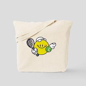 Smile Face Tennis Tote Bag