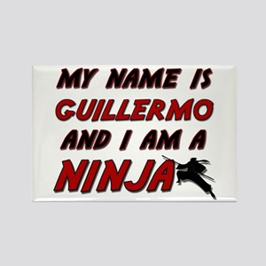 my name is guillermo and i am a ninja Rectangle Ma