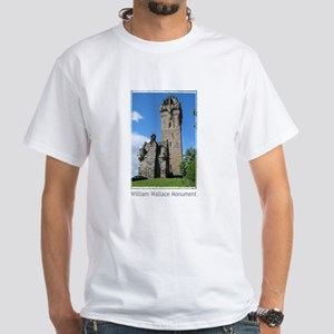 William Wallace Monument White T-Shirt