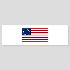 Betsy Ross Flag Bumper Sticker
