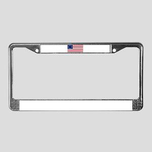 Betsy Ross Flag License Plate Frame