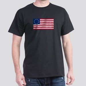Betsy Ross Flag Dark T-Shirt