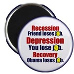 """Recovery 2.25"""" Magnet (10 pack)"""