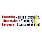 Recovery Bumper Sticker (50 pk)