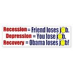 Recovery Bumper Sticker