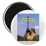French Cheese Eating Surrender Monkeys Magnet