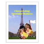 French Cheese Eating Surrender Monkeys Small Poste