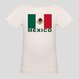 Mexico Flag Organic Baby T-Shirt