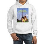 French Cheese Eating Surrender Monkeys Hooded Swea