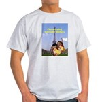 French Cheese Eating Surrender Monkeys Ash Grey T-