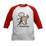 BusyBodies Great Dane (fawn) Kids Baseball Jersey