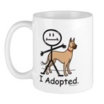 BusyBodies Great Dane (fawn) Mug