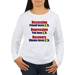 Recovery Women's Long Sleeve T-Shirt