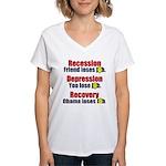 Recovery Women's V-Neck T-Shirt