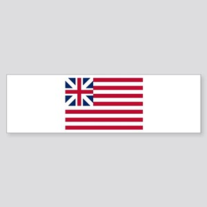 Grand Union Flag Bumper Sticker