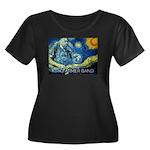 Starry Night Plus Size T-Shirt