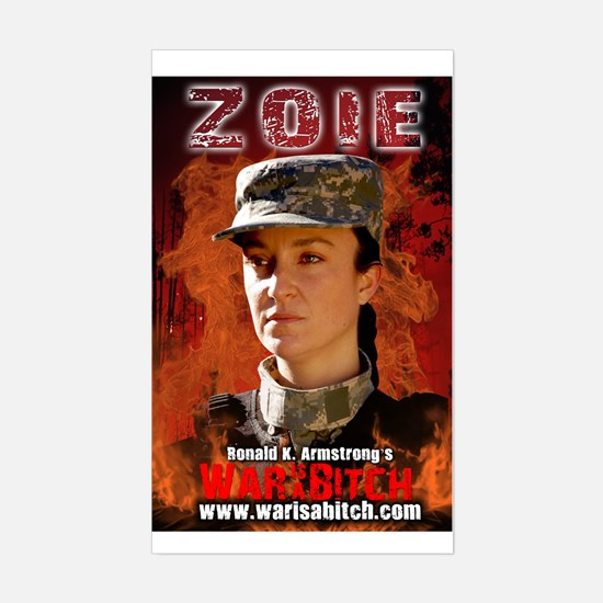 Zoie Rectangle Decal