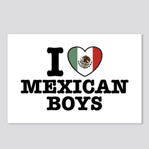 I Love Mexican Boys Postcards (Package of 8)