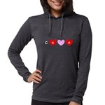 Cure Breast Cancer Red Pink Hearts 47 Long Sleeve