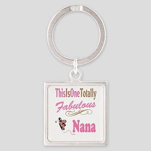 Fabulous Nana Square Keychain