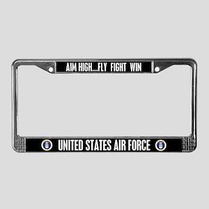 U.S. Air Force License Plate Frame