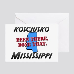 kosciusko mississippi - been there, done that Gree