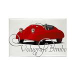 Volugrafo Bimbo Rectangle Magnet (10 pack)