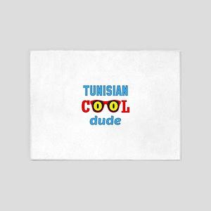 Tunisian Cool Dude 5'x7'Area Rug