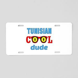 Tunisian Cool Dude Aluminum License Plate