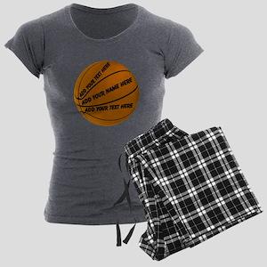 Basketball Women's Charcoal Pajamas
