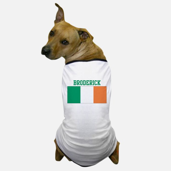 Broderick (ireland flag) Dog T-Shirt