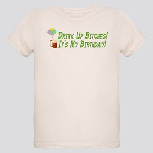 Drink Up Bitches Organic Kids T Shirt