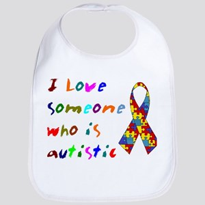 Love Autistic Kids Bib