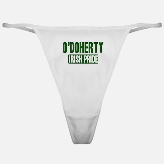 ODoherty irish pride Classic Thong