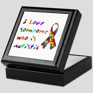 Love Autistic Kids Keepsake Box