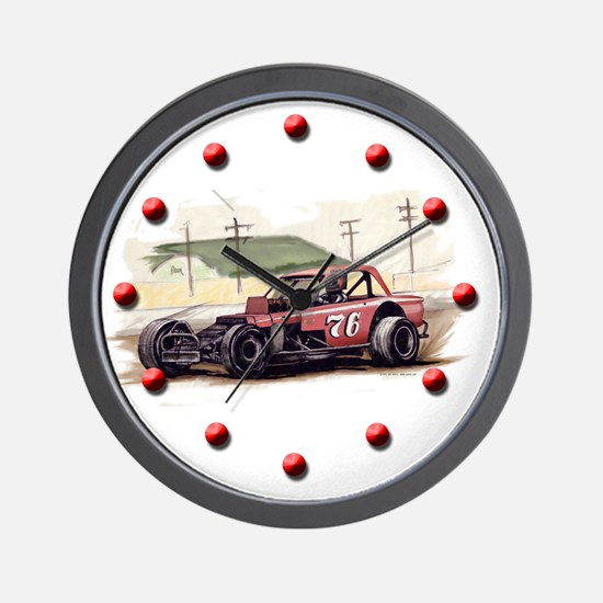 """Old Dirt!"" 76 new Wall Clock"