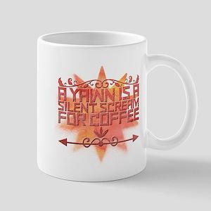 A yawn is a silent scream for coffee. Mugs