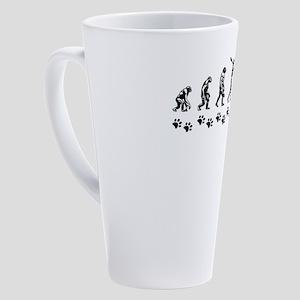 Bloodhound 17 oz Latte Mug