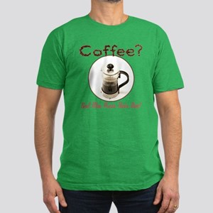 French Press Men Men's Fitted T-Shirt (dark)