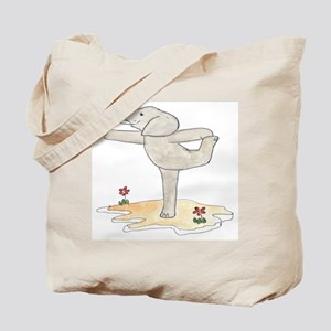 Elephant in Dancer's Pose Tote Bag
